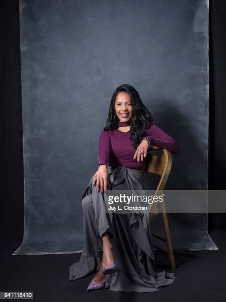 Actress Penny Johnson Jerald from of 'The Orville', is photographed for Los Angeles Times on March 17, 2018 at the PaleyFest at the Dolby Theatre in...