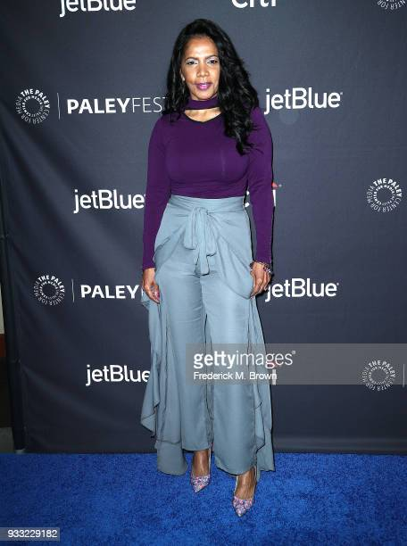 """Actress Penny Johnson Jerald of the television show """"The Orville"""" attends The Paley Center for Media's 35th Annual Paleyfest Los Angeles at the Dolby..."""