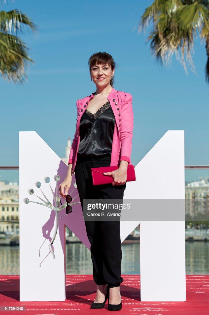 Actress Pepa Aniorte attends 'Mi Querida Cofradia' photocall during the 21th Malaga Film Festival on April 17, 2018 in Malaga, Spain.