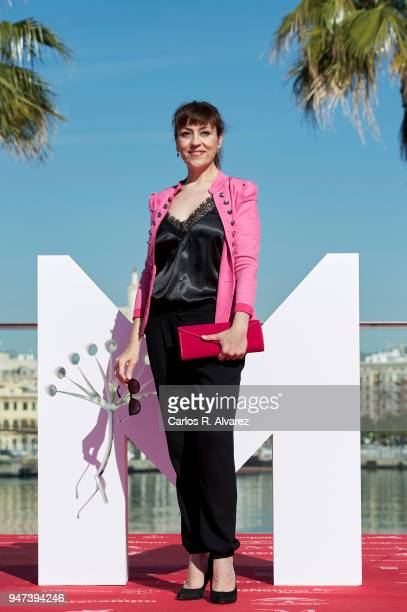 Actress Pepa Aniorte attends 'Mi Querida Cofradia' photocall during the 21th Malaga Film Festival on April 17 2018 in Malaga Spain