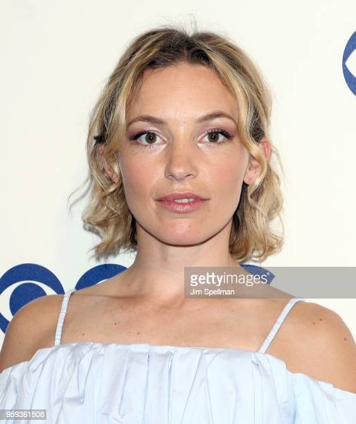 Actress Perdita Weeks attends the 2018 CBS Upfront at The Plaza Hotel on May 16 2018 in New York City