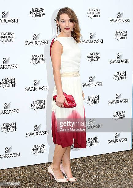 Actress Perdita Weeks attends the English National Ballet's summer party at Kensington Palace on June 27 2012 in London England