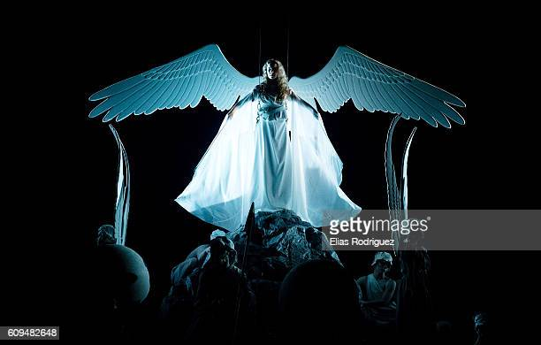 Actress performs during the World of WearableArt Awards Charity Show 2016 on September 21 2016 in Wellington New Zealand
