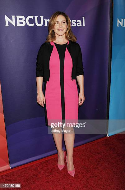 Actress Peri Gilpin attends the 2015 NBCUniversal Summer Press Day held at the The Langham Huntington Hotel and Spa on April 02 2015 in Pasadena...