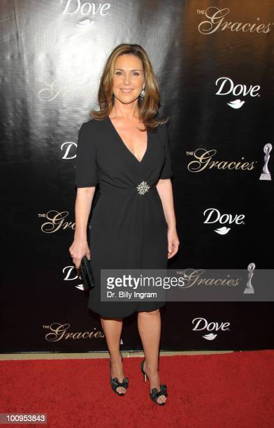 Actress Peri Gilpin attends the 35th Annual Gracie Awards Gala at The Beverly Hilton Hotel on May 25 2010 in Beverly Hills California