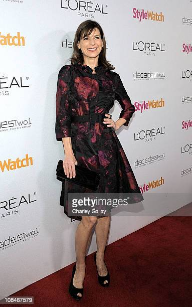 Actress Perrey Reeves arrives to 'A Night Of Red Carpet Style' hosted by People StyleWatch at Decades on January 27, 2011 in Los Angeles, California.