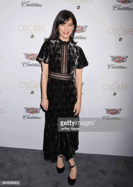 Actress Perrey Reeves attends Cadillac's 89th annual Academy Awards celebration at Chateau Marmont on February 23 2017 in Los Angeles California