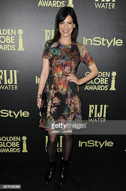 Actress Perrey Reeves attends the Hollywood Foreign Press Association and InStyle's celebration of the 2016 Golden Globe award season at Ysabel on...