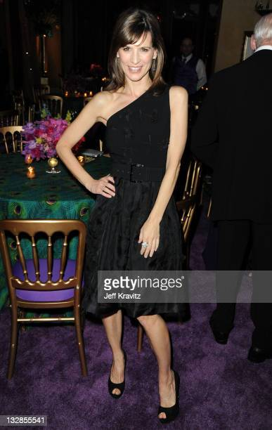 Actress Perrey Reeves attends the official HBO SAG Awards after party held at at Spago on January 29 2011 in Beverly Hills California