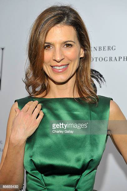 Actress Perrey Reeves attends the opening celebration of The Annenberg Space for Photography on March 26 2009 in Los Angeles California