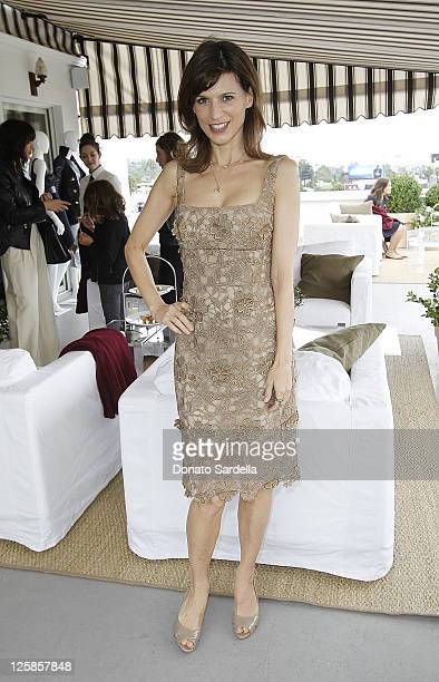 Actress Perrey Reeves attends Vogue and Valentino Celebrate Spring/Summer 2011 Collection Hosted by Jacqui Getty and Gia Coppola Lisa and Nathlie...