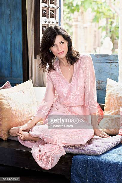 Actress Perrey Reeves is photographed for Viva on May 6 2015 in Venice California PUBLISHED IMAGE
