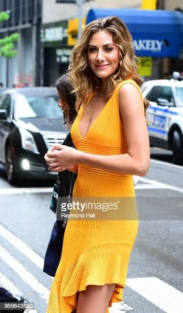 Actress Perry Mattfeld is seen walking in Midtown on May 17 2018 in New York City