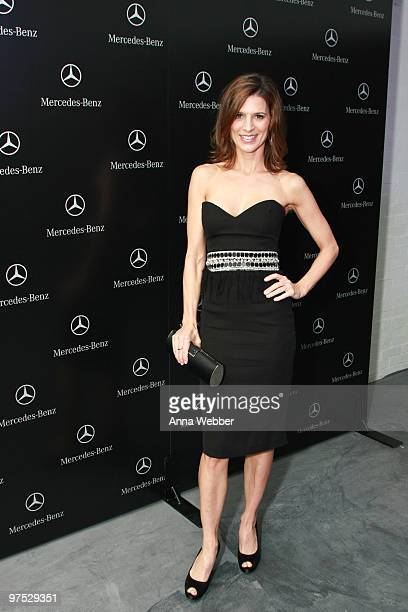 Actress Perry Reeves arrives at Soho House on March 7 2010 in West Hollywood California