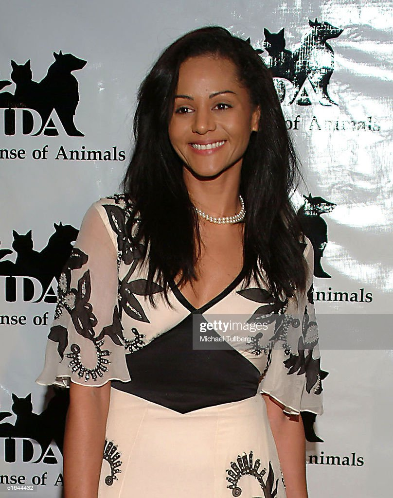 Actress Persia White arrives at the 'In Defense Of Animals Guardian Awards Fundraiser' on October 20, 2004 at Paramount Studios in Hollywood, California.