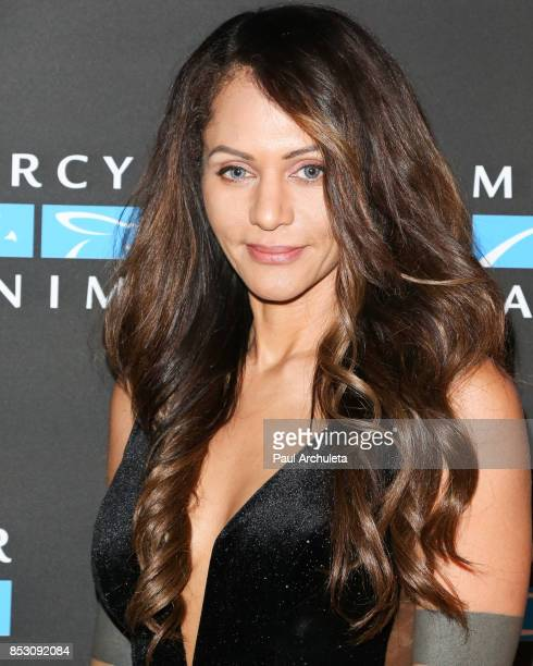 Actress Persia White attends the Mercy For Animals' Annual Hidden Heroes Gala at Vibiana on September 23 2017 in Los Angeles California