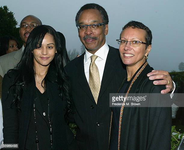 Actress Persia White Bruce Gordon president/CEO of the NAACP and his wife Tawana Tibbs attend special event by the Hollywood Chapter of the NAACP...