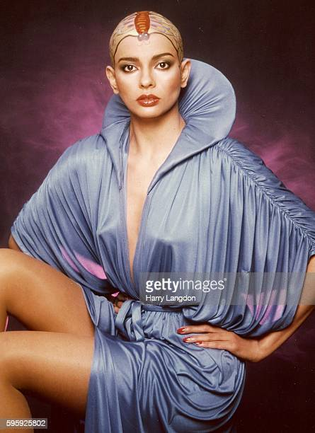 Actress Persis Khambatta poses for a portrait in1979 in Los Angeles California