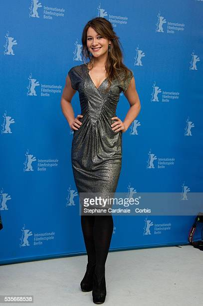 Actress Peta Sergeant attends the Iron Sky Photocall during the 62nd Berlin International Film Festival in Berlin