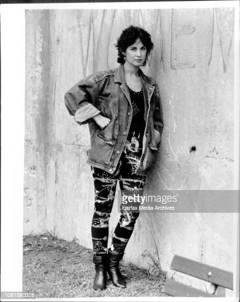 Actress Peta ToppanoBalmain March 27 1987