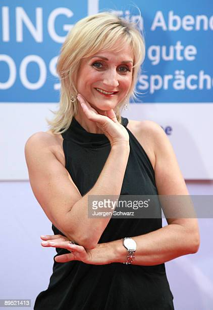Actress Petra Nadolny poses at a photocall prior to the programme round up presentation of the new television season 2009/10 on July 30 2009 in...