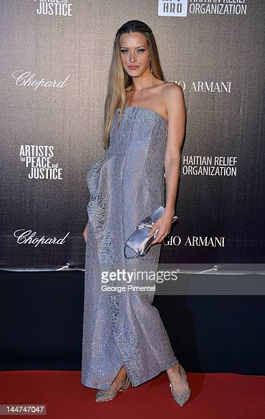Actress Petra Nemcova attends the Haiti Carnival In Cannes Benefitting J/P HRO Artists For Peace and Justice Happy Hearts Fund Presented By Armani...