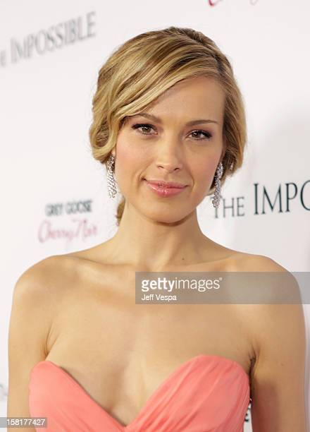 """Actress Petra Nemcova attends the Los Angeles Premiere of """"The Impossible"""" presented by Grey Goose Vodka at ArcLight Cinemas on December 10, 2012 in..."""