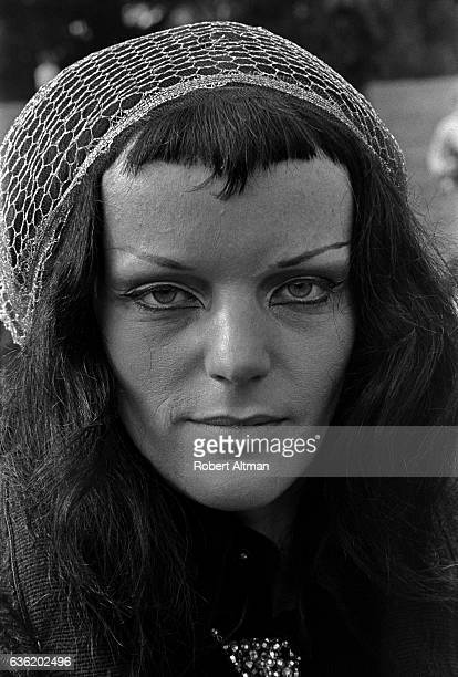 Actress Petra Vogt of The Living Theatre poses for a portrait circa March 1969 in San Francisco California