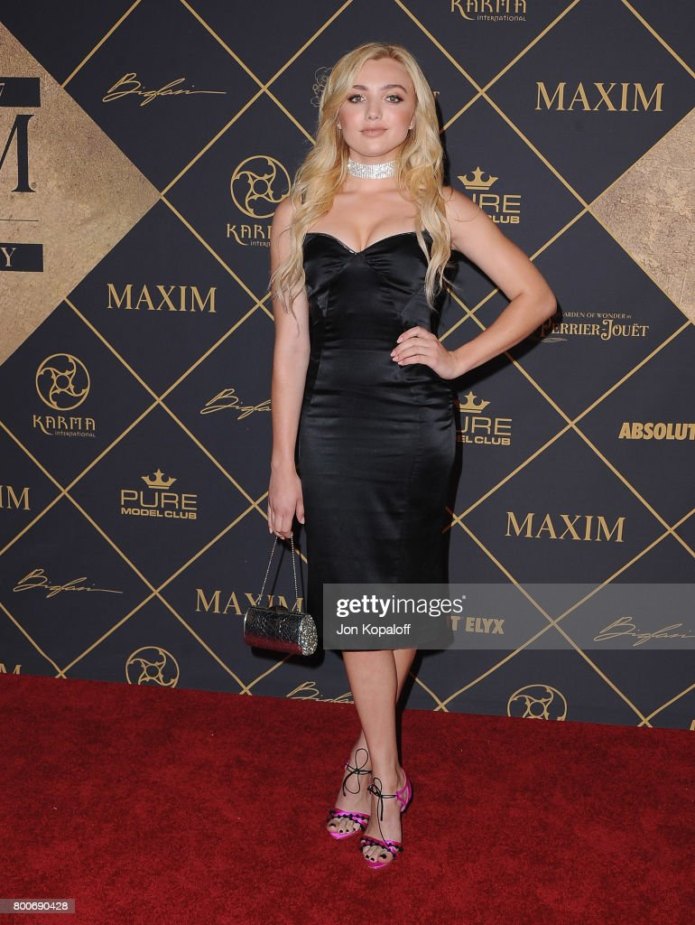 Actress Peyton List arrives at The 2017 MAXIM Hot 100 Party at Hollywood Palladium on June 24, 2017 in Los Angeles, California.