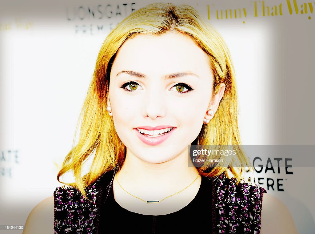 .Actress Peyton List arrives at the Premiere Of Lionsgate Premiere's 'She's Funny That Way' at Harmony Gold on August 19, 2015 in Los Angeles, California.