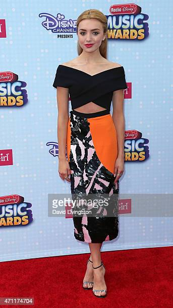 Actress Peyton List attends the 2015 Radio Disney Music Awards at Nokia Theatre LA Live on April 25 2015 in Los Angeles California