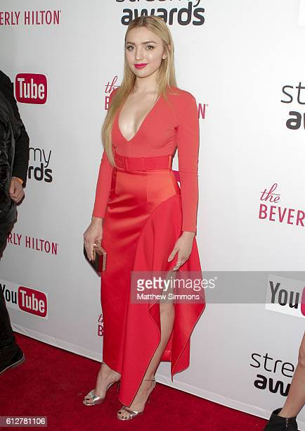 Actress Peyton List attends the 2016 Streamy Awards at The Beverly Hilton Hotel on October 4 2016 in Beverly Hills California