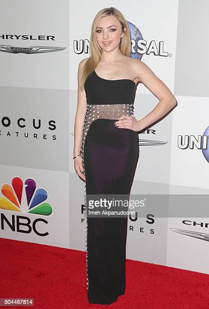 Actress Peyton List attends Universal NBC Focus Features and E Entertainment Golden Globe Awards After Party sponsored by Chrysler at The Beverly...