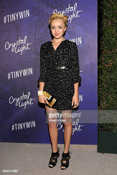 Actress Peyton List attends Variety and Women in Film Emmy Nominee Celebration powered by Samsung Galaxy on August 23 2014 in West Hollywood...