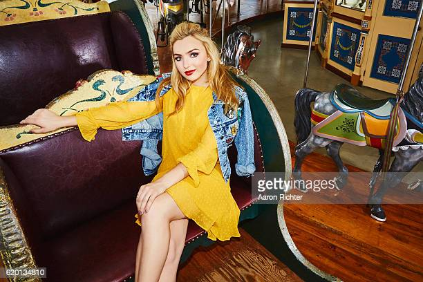 Actress Peyton List is photographed for Tiger Beat Magazines on July 5 2016 in Brooklyn New York