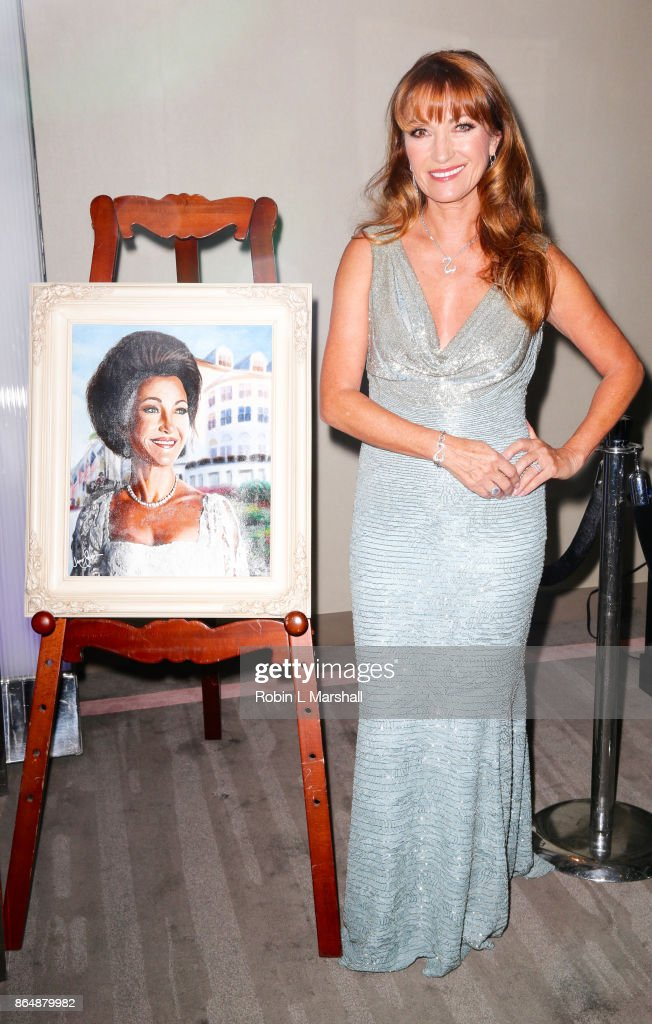 Actress /Philanthropist Jane Seymour attends the 2017 Open Hearts Gala at SLS Hotel on October 21, 2017 in Beverly Hills, California.