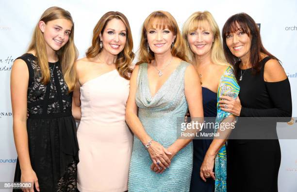 Actress /Philanthropist Jane Seymour Christie Paul and more attend the 2017 Open Hearts Gala at SLS Hotel on October 21 2017 in Beverly Hills...