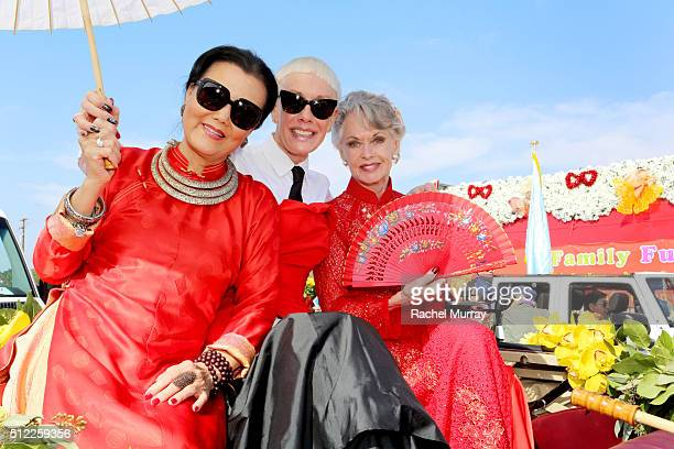Actress & Philanthropist Kieu-Chinh, CND Co-Founder & Style Director Jan Arnold, and Actress & Humanitarian Tippi Hedren join CND for the 2016 Tet...