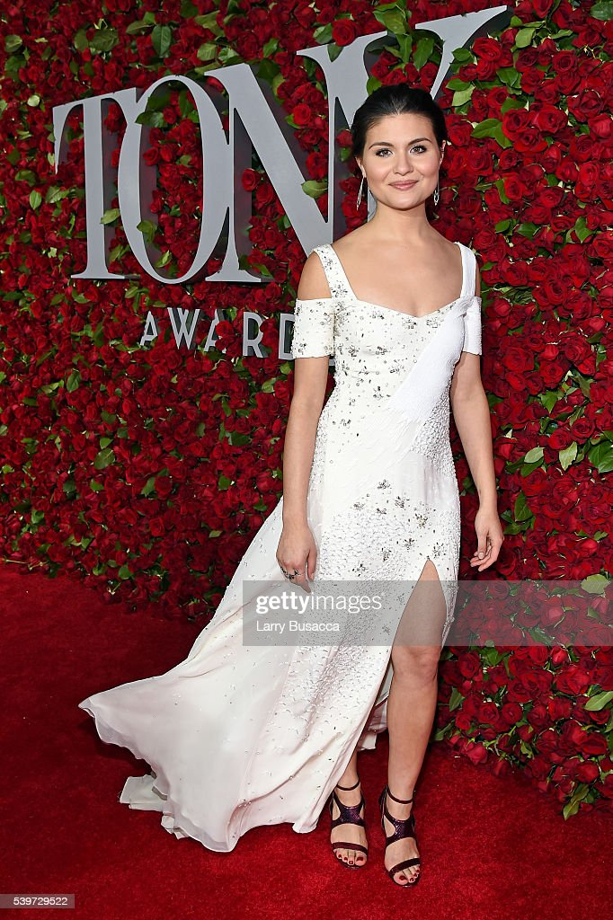 Actress Phillipa Soo attends the 70th Annual Tony Awards at The Beacon Theatre on June 12, 2016 in New York City.