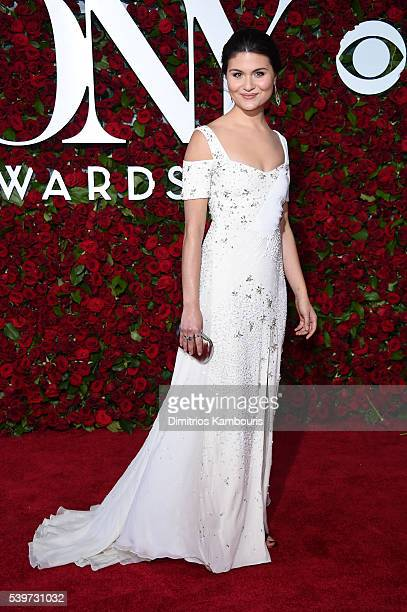 Actress Phillipa Soo attends the 70th Annual Tony Awards at The Beacon Theatre on June 12 2016 in New York City