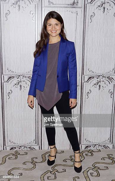 Actress Phillipa Soo attends the AOL BUILD Series to discuss her role in Broadway's 'Hamilton' at AOL Studios In New York on November 5 2015 in New...