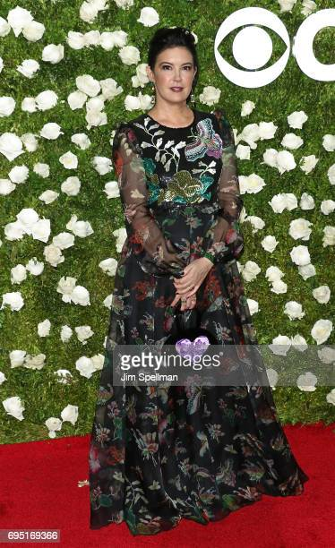 Actress Phoebe Cates attends the 71st Annual Tony Awards at Radio City Music Hall on June 11 2017 in New York City