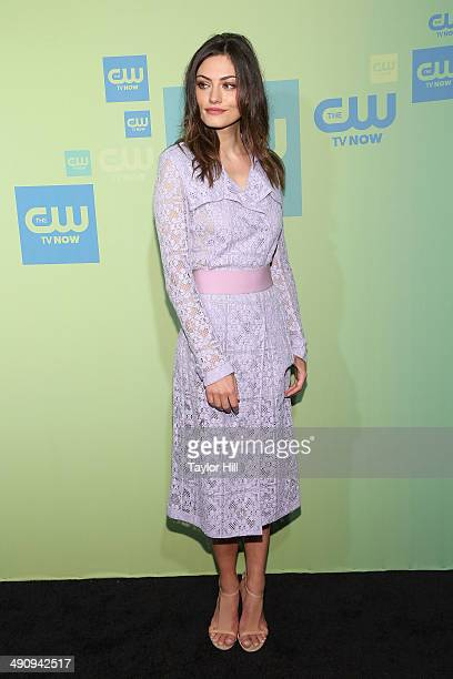Actress Phoebe Jane Tonkin attends the CW Network's New York 2014 Upfront Presentation at The London Hotel on May 15 2014 in New York City