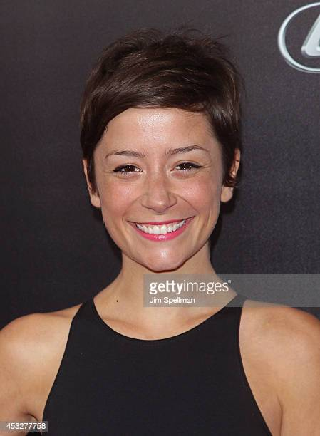 Actress Phoebe Neidhardt attends the 'Life is Amazing' Lexus Short Films Series at SVA Theater on August 6 2014 in New York City