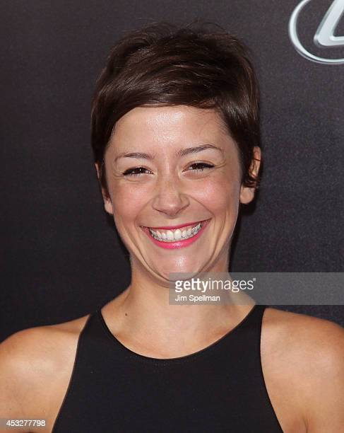 "Actress Phoebe Neidhardt attends the ""Life is Amazing"" Lexus Short Films Series at SVA Theater on August 6, 2014 in New York City."