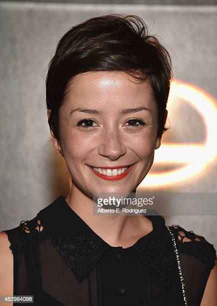 Actress Phoebe Neidhardt attends The Weinstein Company and Lexus Present Lexus Short Film at Regal Cinemas L.A. Live on July 30, 2014 in Los Angeles,...