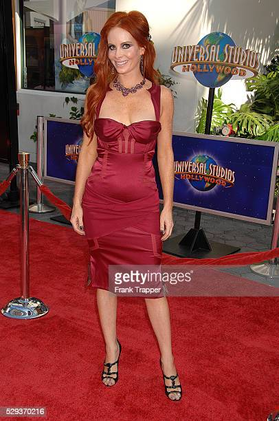 Actress Phoebe Price arrives at the world premiere of 'The Mummy Tomb of the Dragon Emperor' held at Gibson Amphitheatre Universal Studios