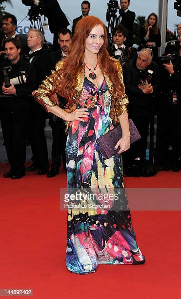 """Actress Phoebe Price attends the """"Amour"""" premiere during the 65th Annual Cannes Film Festival at Palais des Festivals on May 20, 2012 in Cannes,..."""
