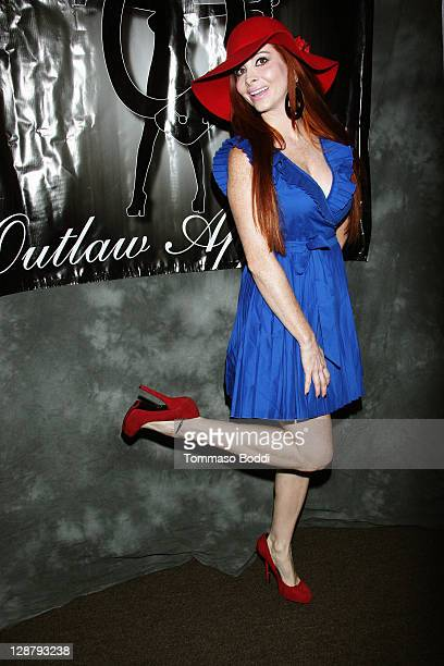 Actress Phoebe Price attends the Storage Wars Stars Jarrod Schulz And Brandi Passante Store Opening on October 8 2011 in Orange California