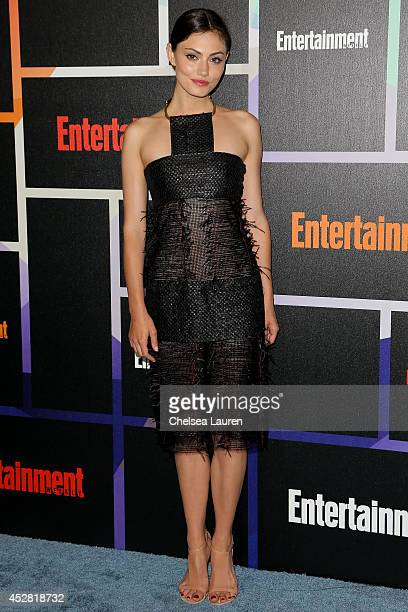 Actress Phoebe Tonkin arrives at Entertainment Weekly's Annual Comic Con Celebration at Float at Hard Rock Hotel San Diego on July 26 2014 in San...